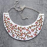 Náhrdelníky - floral - 10994571_