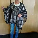Iné oblečenie - Pončo ľahúčke - 10994108_