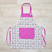 Detské oblečenie - zástera pre malé kuchárky - 10994076_