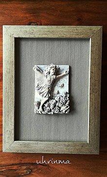 Dekorácie - VÍLA č.4- ruža - 10991364_