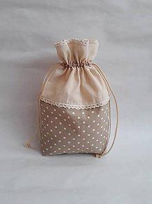 Úžitkový textil - Vrecúško na bylinky - 10994717_