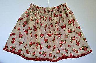 Detské oblečenie - Detská suknička - zero waste 3 - 10992597_