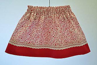 Detské oblečenie - Detská suknička - zero waste 2 - 10992607_