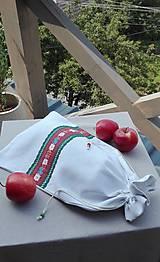 Úžitkový textil - Ľanové vrecko na veľký chlieb HOREC a PLESNIVEC II. 52 x 30,5 cm - 10993709_
