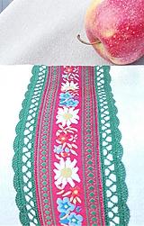 Úžitkový textil - Ľanové vrecko na veľký chlieb HOREC a PLESNIVEC II. 52 x 30,5 cm - 10993710_