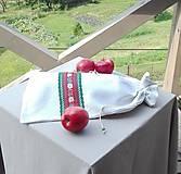 Úžitkový textil - Ľanové vrecko na veľký chlieb HOREC a PLESNIVEC II. 52 x 30,5 cm - 10993712_