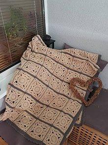 Úžitkový textil - Háčková deka ALICA - 10994077_