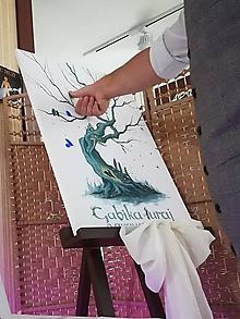 Obrazy - rozprávkový Svadobný strom - 10992338_