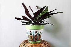 Nádoby - Terakotový kvetináč - Rastlinkový (veľký) - 10992720_