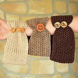 Čiapky - Čelenka s gombíkmi - 10994259_