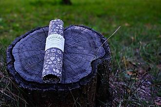 Úžitkový textil - Voskovaný obrúsok Voskáč 33x33cm (Ludvig) - 10994592_