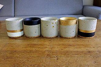 Dekorácie - betónový kvetináč - valček (Pestrofarebná) - 10994109_