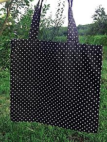 Nákupné tašky - Látková taška -Šťastná bodka - 10994588_