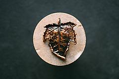 Náhrdelníky - Javor tatarský patina - 10994337_