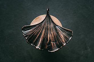 Náhrdelníky - Prívesok ginko veľké - 10994213_