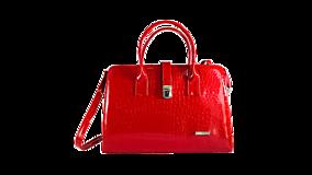 Kabelky - Dámska Business inovačná kabelka - Red - 10994772_