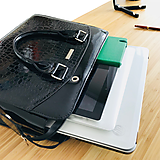 Na notebook - Dámska Business inovačná kabelka - Black - 10994860_