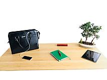 Na notebook - Dámska Business inovačná kabelka - Black - 10994863_