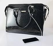 Na notebook - Dámska Business inovačná kabelka - Black - 10994865_