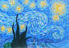 Obrazy - Starry night - 10993939_