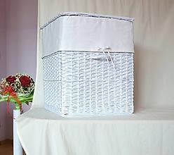 Košíky - Snehový kôš na prádlo - 10993269_