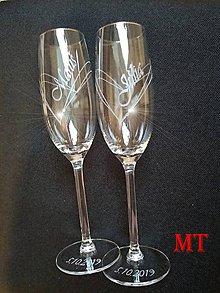 Nádoby - Svadobné poháre - 10997239_