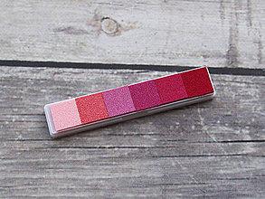 Farby-laky - Pečiatková poduška odtiene ružovej - 10995308_