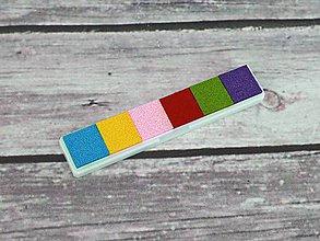 Farby-laky - Pečiatková poduška sada 6 farieb - 10995318_