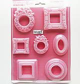 Pomôcky/Nástroje - Plastová forma pružná - Stamperia, A4 - rámik,obraz - 10995290_