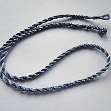 Galantéria - Šnúrka 0,3x48cm-1ks - 10997021_