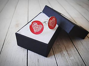 Šperky - Manžetové gombíky - 10996832_