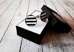 Šperky - Manžetové gombíky - 10997085_