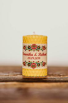 Darčeky pre svadobčanov - Menovka alebo darček pre svadobčanov - Točené -Vzor č.20 - 10995455_