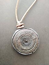 Náhrdelníky - Kruhy v obilí- prívesok - 10996772_