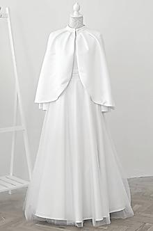 Kabáty - Svadobná pelerína - 10996387_