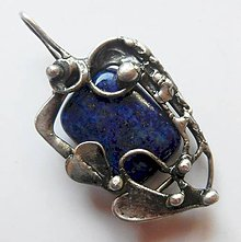Náhrdelníky - Prívesok-Lapis lazuli - 10996123_