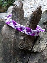 Pletený náramok 25