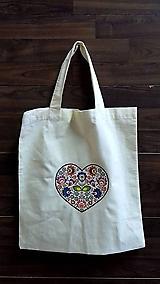 Nákupné tašky - nákupná taška ♥ folkové - 10997596_