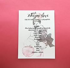 Darčeky pre svadobčanov - Zakázané slová Apple - 10997661_