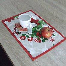 Úžitkový textil - HILDA - Zmes vianočných vzorov  - prestieranie 28x40 - 10997415_
