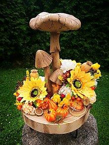 Dekorácie - Veľká jesenná dekorácia - 10996749_