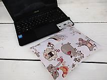 Úžitkový textil - zvieratková špaldovo-pohánková podložka k počítaču - 10996869_