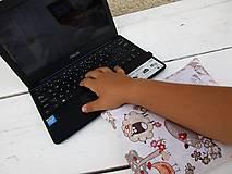 Úžitkový textil - zvieratková špaldovo-pohánková podložka k počítaču - 10996872_
