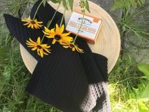Úžitkový textil - Uterák - ČIERNY - 10997009_