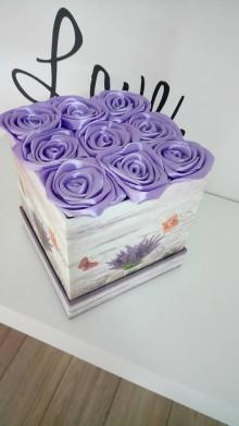 Nezaradené - Fialový flowerbox - 10996492_