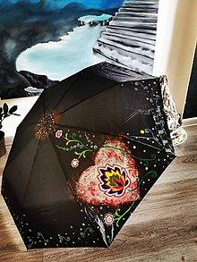 Iné doplnky - maľovaný dáždnik - 10997449_
