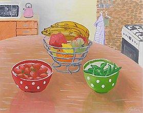 Obrazy - Kuchyňa- zátišie - 10996398_