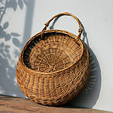 Košíky - závesný košík (Hnedá) - 10995422_