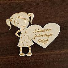 Polotovary - Dievčatko - Vitajte - 10997654_
