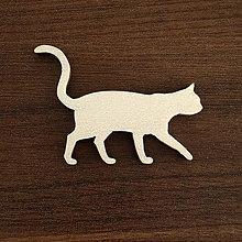 Polotovary - Výrez - silueta mačičky - 10997816_